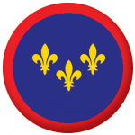 Berry Former Province Flag 58mm Button Badge